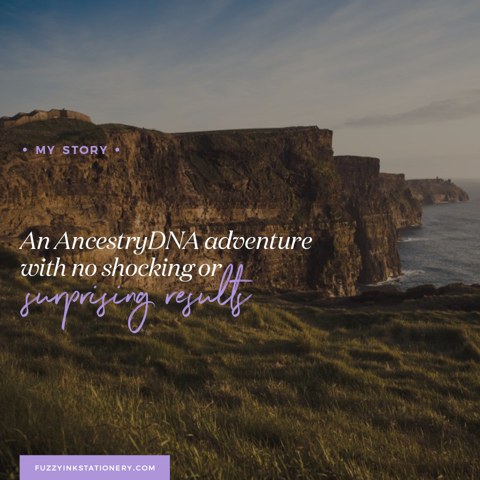 An AncestryDNA adventure with no shocking or surprising results. Photo by elias ehmann from unsplash