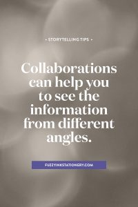 Are you working with multiple authors on a family history project? Collaborations can help you to see the information from different angles | Fuzzy Ink Stationery. #genealogy #ancestors #storytelling #familyhistory
