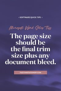 Fuzzy Ink Stationery quick tip for using Microsoft Word to turn your genealogy research into a family history book #microsoftword #softwaretips #familyhistory