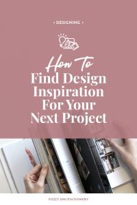 Get tips on how how to find design inspiration for your next project #familyhistory #designtips