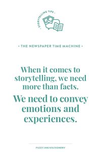 Newspapers are a time machine into our past and therefore a valuable genealogy research and family history storytelling tool. They provide the flavour and small details that give us emotions and experiences to turn facts into a story. #genealogy #familyhistory #storytelling #newspapers