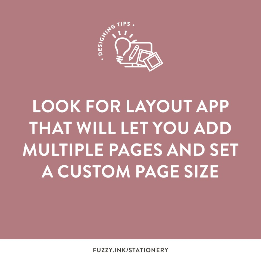 Look for layout app that will let you add multiple pages and set a custom page size.