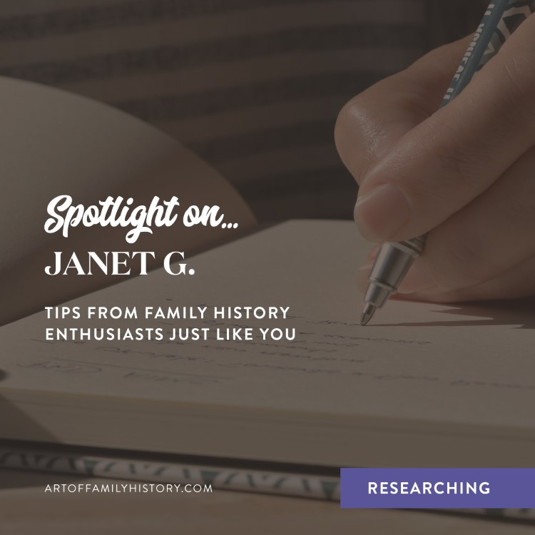 Spotlight on Janet G