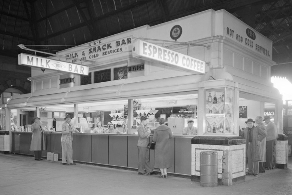 Railway Refreshment Room at Central Station in Sydney, NSW